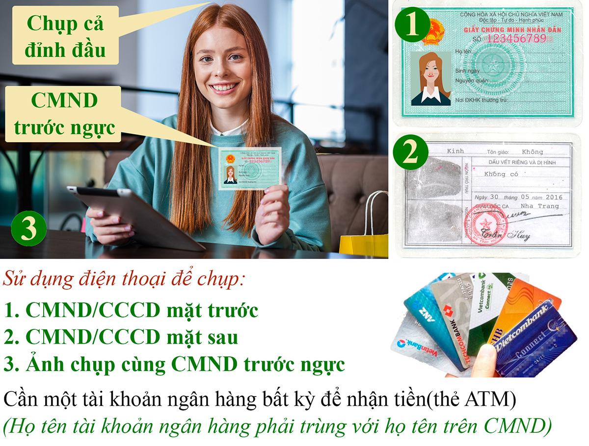 Điều kiện vay tiền bằng CMND
