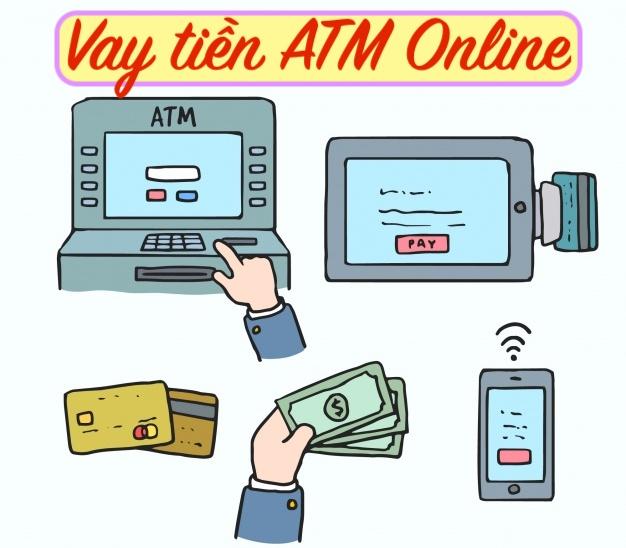 ATM online vay tiền