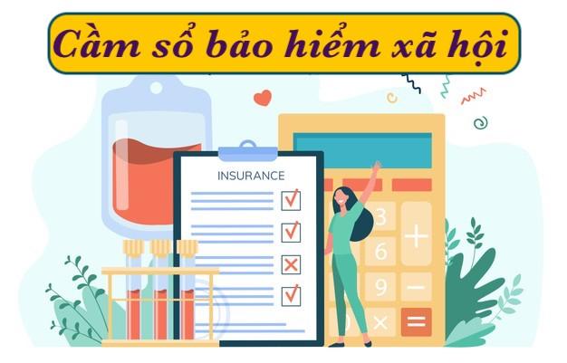 Cầm sổ bảo hiểm xã hội