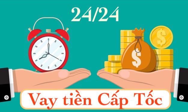 Vay tiền cấp tốc online 24/24 bằng CMND