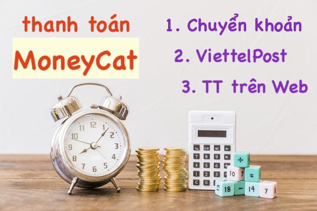 Thanh toán MoneyCat