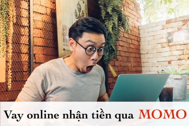 Vay online nhận tiền qua Momo
