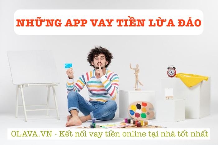 Những app vay tiền lừa đảo