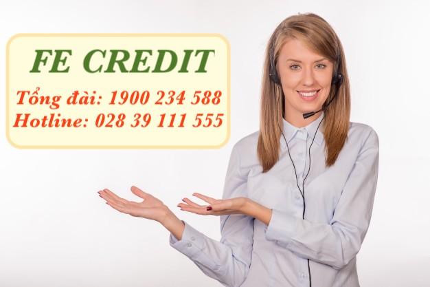 Số tổng đài FE Credit