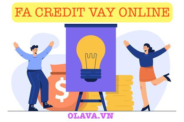 VAY tiền FA Credit online