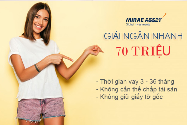 Hướng dẫn vay tiền Mirae Asset online