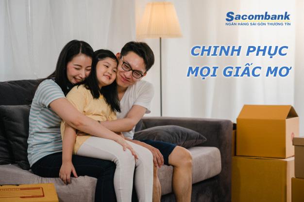 Hướng dẫn vay tiền Sacombank 5/2021