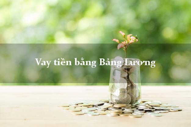 Vay tiền qua lương